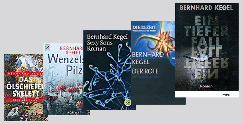 Science novels by Bernhard Kegel